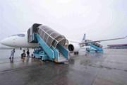 Cận cảnh Airbus 'chào hàng' máy bay A220 loại nhỏ tại Việt Nam