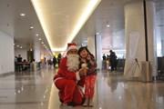 Cảng hàng không quốc tế Nội Bài tràn ngập không khí Giáng sinh