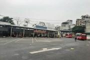 Bến xe thưa thớt hành khách trong ngày cuối nghỉ Tết Nguyên đán