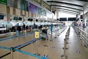 Sân bay Nội Bài vắng vẻ không bóng người trong đợt dịch COVID-19