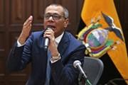 Phó Tổng thống Ecuador bị yêu cầu tạm giam do cáo buộc tham nhũng