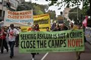 Tuần hành tại Australia kêu gọi tái định cư cho những người xin tị nạn