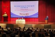 Hội nghị Ngoại vụ 19: Chia sẻ kinh nghiệm trong công tác ngoại vụ