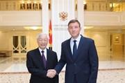 Làm sâu sắc hơn quan hệ đối tác chiến lược toàn diện Việt Nam-LB Nga