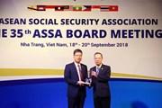 ASSA trao giải thưởng cho Hệ thống thông tin giám định BHYT Việt Nam