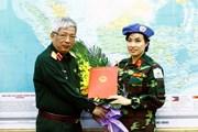 Hình ảnh Việt Nam tham gia lực lượng gìn giữ hòa bình của LHQ