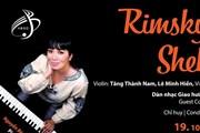 """Nghệ sỹ piano Nguyễn Bích Trà trình diễn hòa nhạc """"Nghìn lẻ một đêm"""""""
