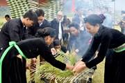 [Photo] Náo nức Lễ hội giã cốm đón Trăng của người Tày Tuyên Quang