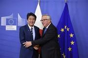 ASEM 12: EU-Nhật Bản quyết tâm hoàn tất thỏa thuận thương mại tự do