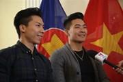[Video] Quốc Cơ, Quốc Nghiệp sẵn sàng cho kỷ lục Guinness mới