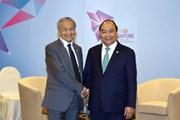 Thủ tướng Nguyễn Xuân Phúc gặp Quốc vương Brunei và Thủ tướng Malaysia