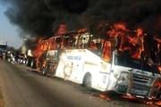 Xe buýt bốc cháy ở Zimbabwe, hơn 60 người thương vong