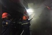 Nghệ An: Kịp thời dập tắt đám cháy không để lây lan ra xung quanh