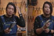 [Video] Chàng trai phát minh dao thái thịt thành lược chải đầu