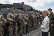 Đức: EU cần quân đội để bảo vệ lợi ích chung của châu Âu