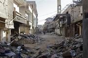 Quân đội Syria phá hủy nhiều bom, mìn của phiến quân khủng bố
