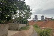 Yêu cầu xử lý ô nhiễm môi trường khu vực Nhà máy ximăng Sông Lam