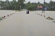 Mưa to gây ngập cục bộ ở Thừa Thiên-Huế, nhiều nơi bị cô lập