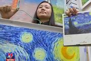 [Video] Mục sở thị công xưởng sao chép tranh lớn nhất thế giới