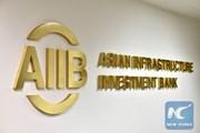 Ngân hàng AIIB do Trung Quốc dẫn đầu kết nạp thêm 6 thành viên mới