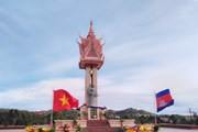 Khánh thành Đài Hữu nghị Việt Nam-Campuchia tại tỉnh Mondolkiri