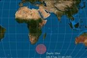 Quần đảo Prince Edward của Canada rung chuyển vì động đất
