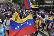Venezuela diễn biến căng thẳng, hàng trăm nghìn người đi biểu tình