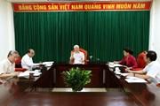 [Video] Tổng Bí thư, Chủ tịch nước chủ trì họp lãnh đạo chủ chốt