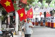 [Photo] Hà Nội trang hoàng rực rỡ kỷ niệm Ngày giải phóng Thủ đô