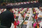 [Photo] Hội Cựu chiến binh TTXVN tri ân các anh hùng liệt sỹ