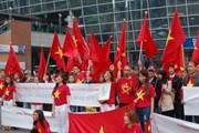 Người Việt tại Hàn tiếp tục phản đối hành động của Trung Quốc