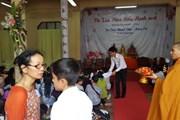 Xúc động lễ Vu Lan báo hiếu của cộng đồng người Việt ở Thái Lan