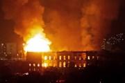 Hé lộ nguyên nhân vụ hỏa hoạn tại Bảo tàng quốc gia Rio de Janeiro