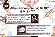 [Infographics] 6 điều chỉnh trong kỳ thi THPT quốc gia năm 2019