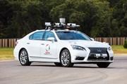 Hai tập đoàn Toyota và Softbank hợp tác phát triển xe tự hành