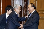 Thủ tướng hội kiến Chủ tịch Hạ viện và Chủ tịch Thượng viện Nhật Bản