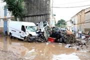 Mưa lớn, lũ lụt ở Tây Ban Nha và Italy, 13 người chết và mất tích
