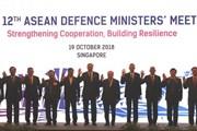 ADMM 12: ASEAN thiếp lập mạng lưới ứng phó thách thức an ninh mới