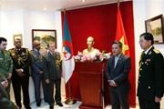 Củng cố quan hệ hợp tác giữa quân đội Việt Nam và Algeria
