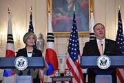 Ngoại trưởng Hàn Quốc và Mỹ điện đàm về vấn đề Triều Tiên