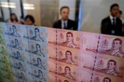Đồng nội tệ của Thái Lan tăng giá nhanh nhất ở khu vực châu Á