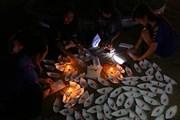 [Photo] Hậu Giang: Nhộn nhịp đêm Trung thu ở thành phố Vị Thanh