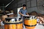 [Photo] Long An: Lưu giữ nghề truyền thống làm trống ở Bình An
