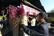 [Photo] Đồng bào dân tộc Cống bản Huổi Moi đón tết Mền Lóong Phạt Ái