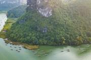 [Photo] Ngắm non nước hữu tình Tràng An trong tiết trời xuân