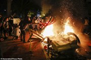 [Photo] Mỹ: Biểu tình biến thành bạo động xảy ra tại nhiều nơi