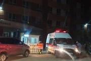 [Photo] Thành phố Hà Nội phong tỏa tòa nhà nơi BN785 sinh sống