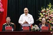 [Photo] Thủ tướng Nguyễn Xuân Phúc tiếp xúc cử tri tại huyện An Lão