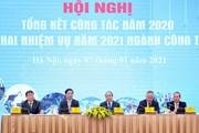 Thủ tướng dự Hội nghị triển khai kế hoạch năm 2021 ngành Công Thương