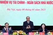 Thủ tướng dự Hội nghị triển khai nhiệm vụ tài chính-ngân sách 2021